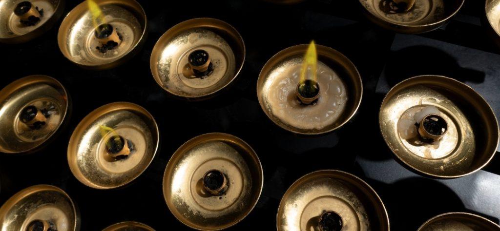 gunpowders spent brass candles